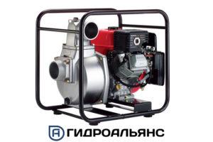 Бензиновые мотопомпы Koshin для слабозагрязненной воды