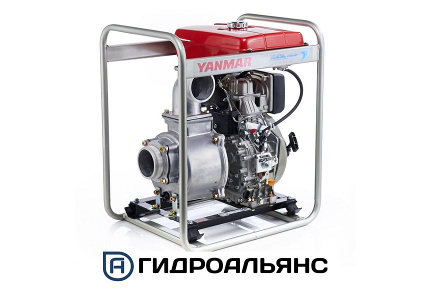 Мотопомпы Yanmar для чистой воды