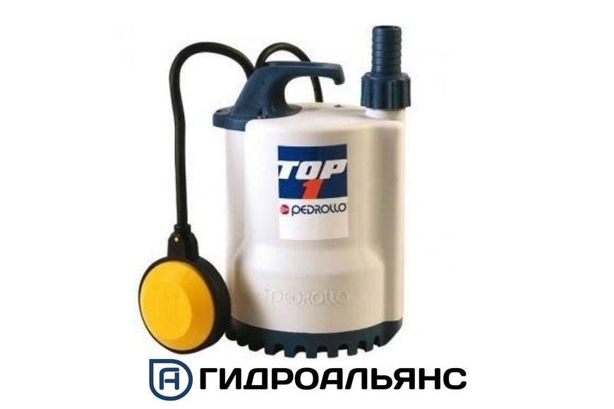 Дренажные насосы Pedrollo TOP для чистой и грязной воды
