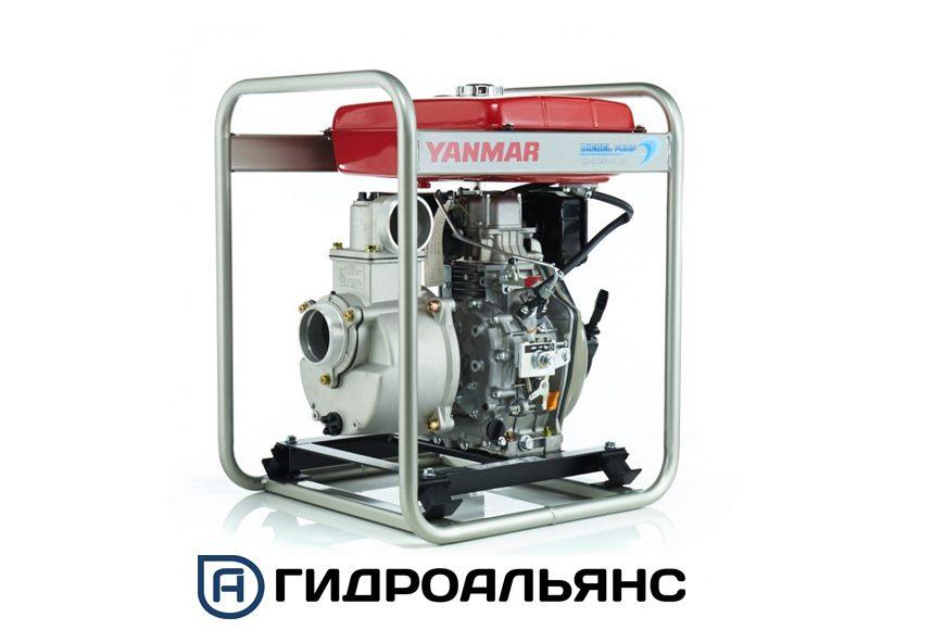 Профессиональные мотопомпы Yanmar для грязной воды