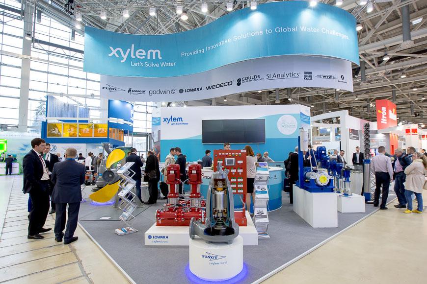 Производство насосов Flygt (Xylem)