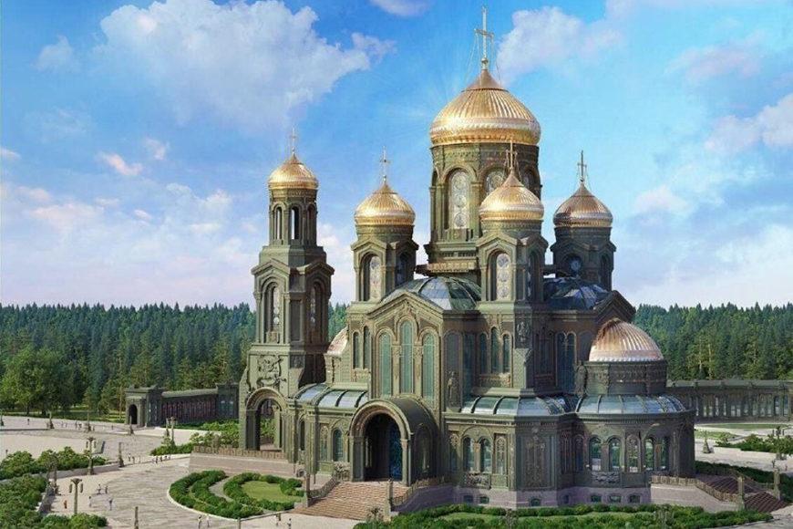 Компания Гидроальянс приняла участие в строительстве Главного Храма Вооруженных сил России